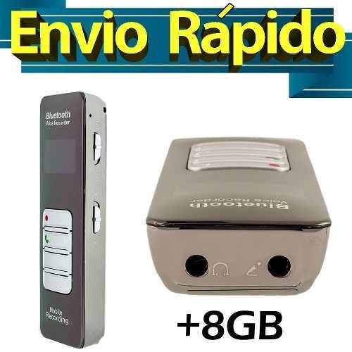 Escutas Espionagem Gravador De Audio Mp3 Espiao Ativação Por