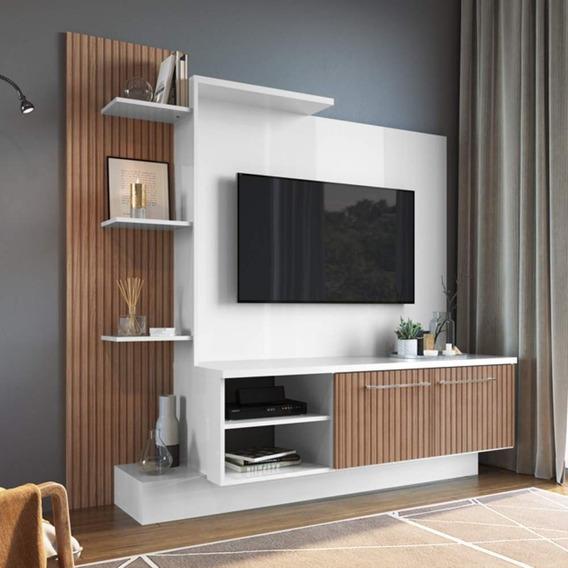 Estante Home Para Tv Até 52 Polegadas 2 Portas Es110 Ec