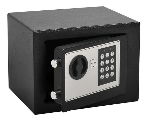 Cofre De Segurança Fechadura Eletrônica Senha 23x17cm