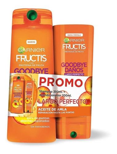 Shampoo Fructis Goodbye Daños 350ml + Acondicionador 200ml