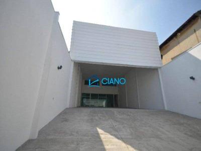 Salão Para Alugar, 370 M² Por R$ 9.990/mês - Mooca - São Paulo/sp - Sl0087
