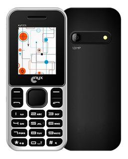 Celular Nyx Xyn306 Camara 1.3mp Microsd Mp3 Radio Fm Flash