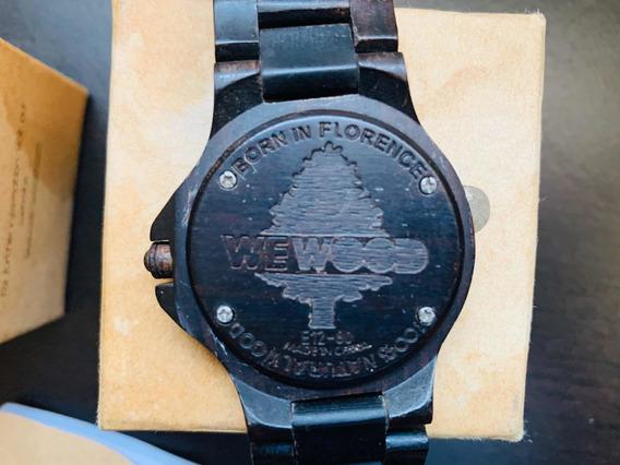 Reloj De Madera We Wood