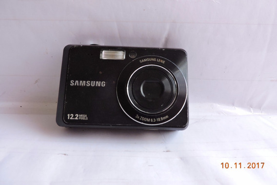 Câmera Preto Samsung - 12.2 Mp Sem Bateria No Estado