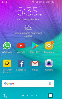 Samsung Galaxy Note Edge Vendo O Cambio