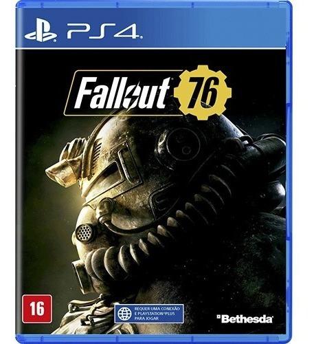 Fallout 76 Ps4 Playstation 4 Mídia Física Lacrado