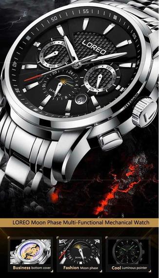 Relógio Loreo Seagull Automático