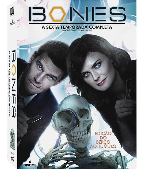 Bones 6ª Temporada - Box Com 6 Dvds - David Boreanaz - Novo