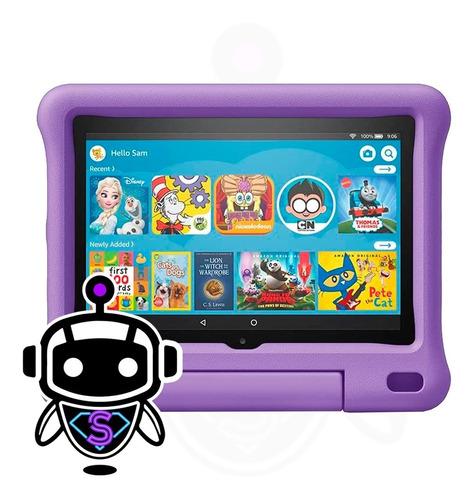 Amazon Fire 7 Kids Edition + Estuche Altigolpe = Samsung Tab