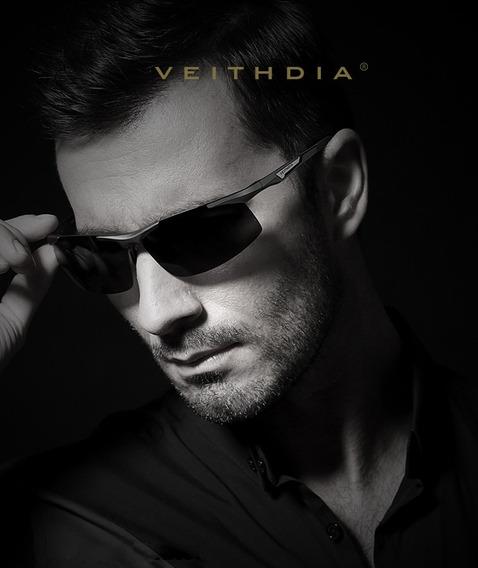 Óculos De Sol Masculino Esporte Casual Fashion Polarizado