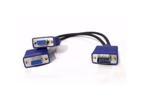 Cabo Y Duplicador 1 Vga X 2 Vga Ligue Seu Pc Em 2 Monitores