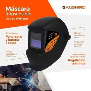 Mascara Soldar Fotosensible Kushiro Wh4500