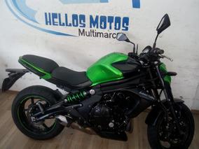 Kawasaki Er 6n Ent Mais 48x Aceito Moto Fin 48x