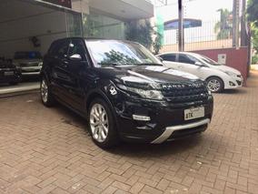 Land Rover Evoque Dynamic 2015 Preta Gasolina