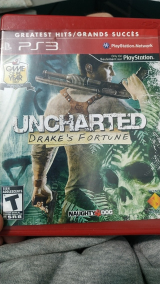 Uncharted Drakes Fortune Ps3 Fisico