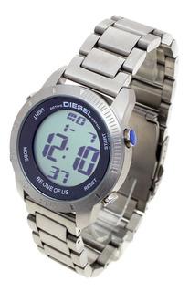 Reloj Diesel Hombre 6451 - Digital Sumergible Wr50 Acero 316