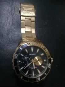 Relógio Semi-novo,oriente Dourado,unico Dono.