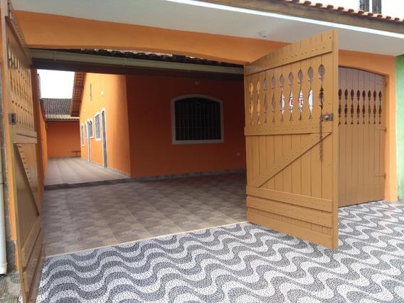 Linda Casa Geminada Em Mongaguá !!! Ref.:7762 D