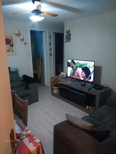 Imagem 1 de 23 de Apartamento Com 2 Dormitórios À Venda, 54 M² Por R$ 180.000,00 - Conjunto Residencial José Bonifácio - São Paulo/sp - Ap0112