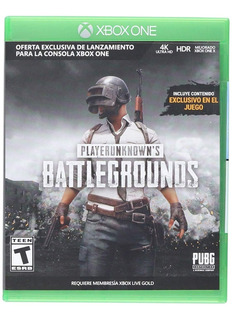 Xbox One Juego Playerunknown