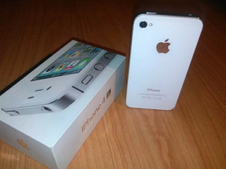 Caja iPhone 4s Blanco 8gb