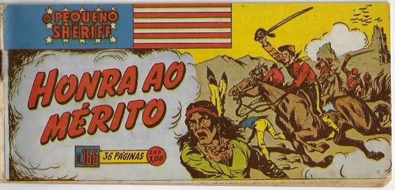 1953 Hq Quadrinhos O Pequeno Sheriff Nº 166 Vecchi