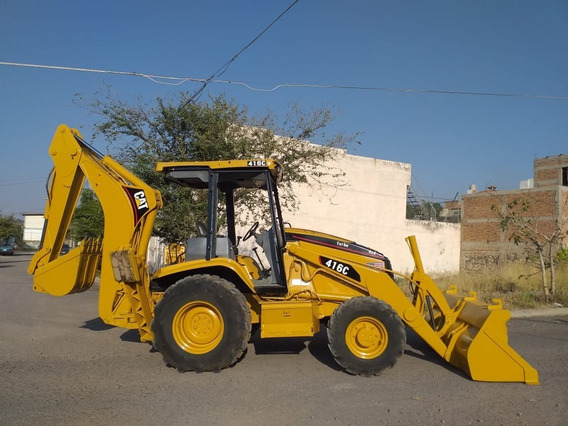 Retroexcavadora Caterpillar 416c 4x4 Recien Importada