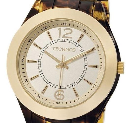 Relógio Technos Elegance Star 2035aak/2m Vidro Cristal