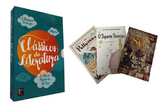 Box Clássicos Da Literatura - (3 Vol)