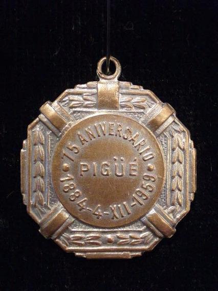 Medalla De 1959 De Pigue 75 Aniversario