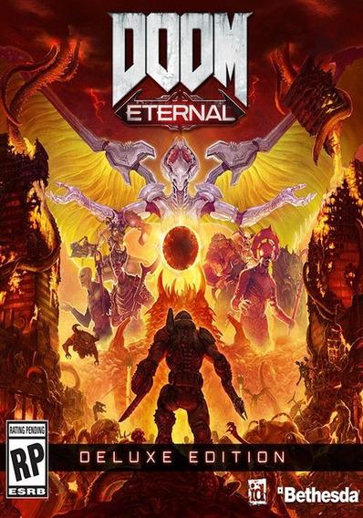 Doom Eternal Pc Dvd + 1 Brinde