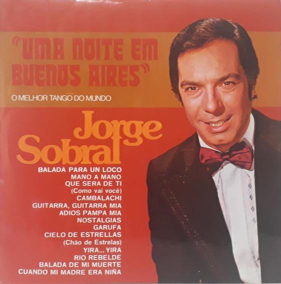 Lp - Jorge Sobral - Uma Noite Em Buenos Aires 1976