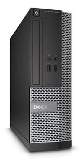 Cpu Dell Optiplex Core I5 4gb 500gb - Novo
