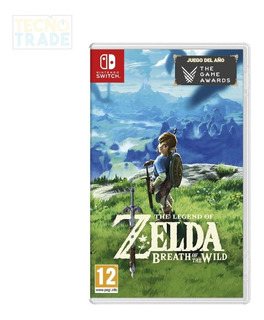 Juego The Legend Of Zelda Breath Of The Wild