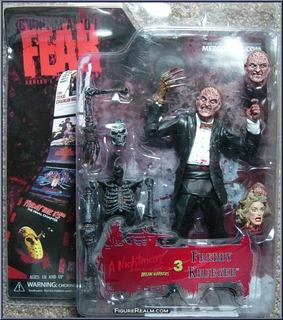 Freddy Krueger Figura Pelicula De Terror, Mezco
