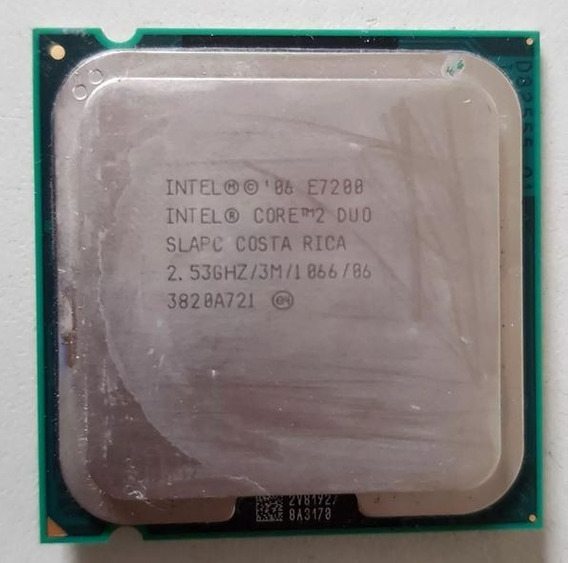 Processador 775 Intel Core 2 Duo E7200 2,53 Usado Ref: 01501