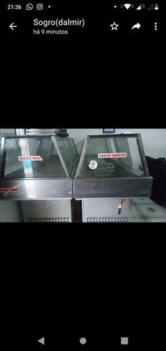 Imagem 1 de 2 de Vende-se Dois Self Serve, Semi-novos(10 Lug Frios E 10 Quent