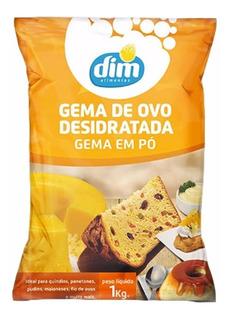 01 Kg De Gema De Ovo Pasteurizada Em Pó - Alimentos Dim