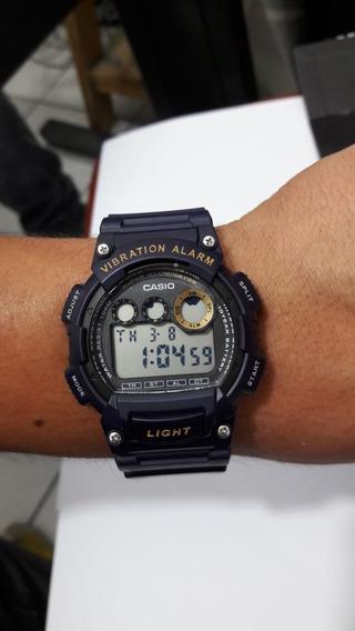 Relogio Casio W735 Digital Roxo, Novo Na Cx Com Garantia.