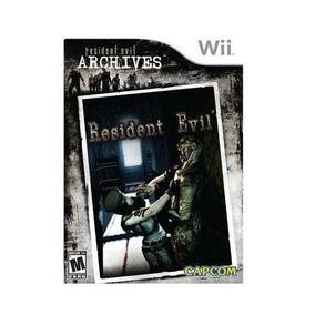 Nintendo Wii Residente Evil Archives: Resident Evil Nuevo