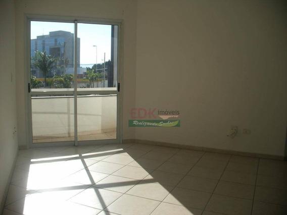 Apartamento Com 3 Dormitórios Para Alugar, 77 M² Por R$ 1.100,00/mês - Barranco - Taubaté/sp - Ap2137