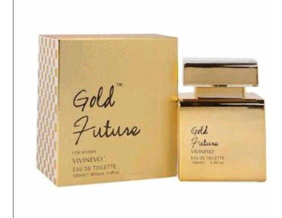 Perfume Gold Future 100ml Eau De Toilette