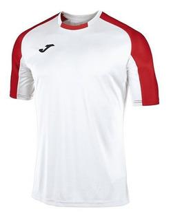 Uniforme Fútbol Joma Essential Bco Roj ¡envío Gratis!