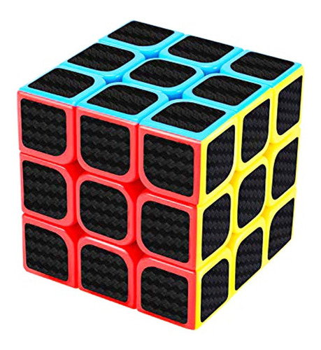 Cubo Magico Rubik 3x3x3 Fibra De Carbono, Ingenio !! Nuevos