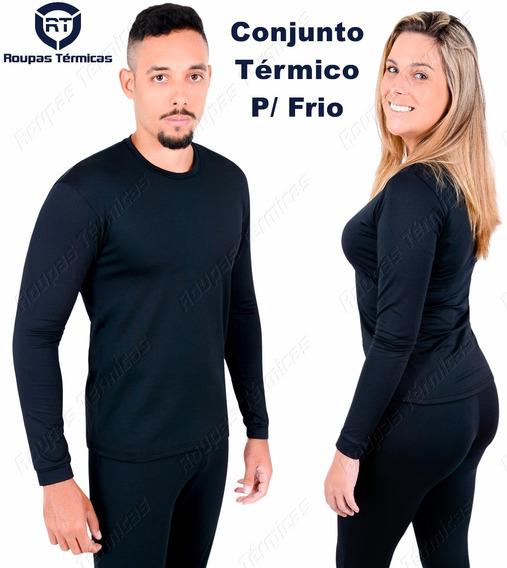 Kit Frio Proteção Pro Blusa + Calça Segunda Pele Térmica