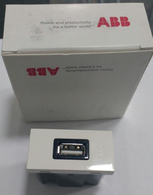 Abb 1 Modulo Caregador Usb 2000ma 1m 2a/5 Branco