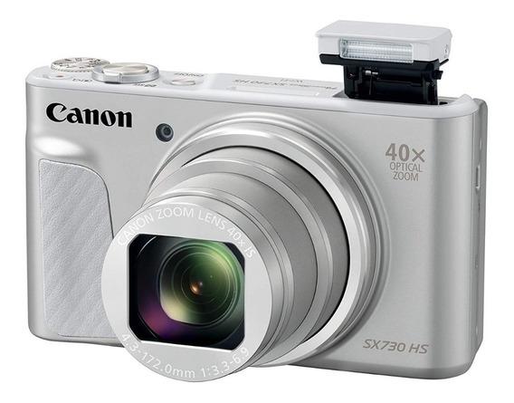 Câmera Canon Sx730 Hs Superzoom 40x Óptico + Bolsa Brinde