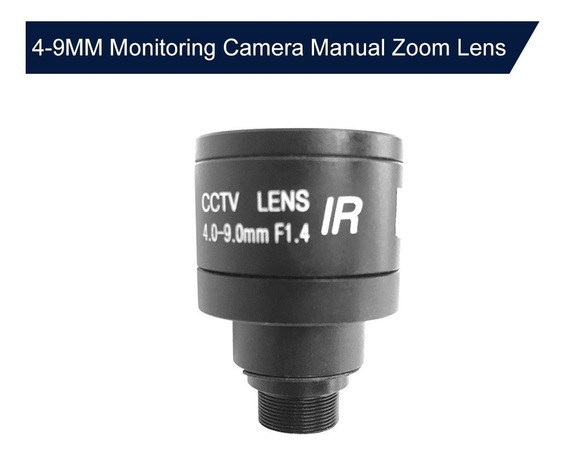 1 Mp Hd 4-9mm M12 Lente De Foco Manual Mtv Zoom Para 1/3