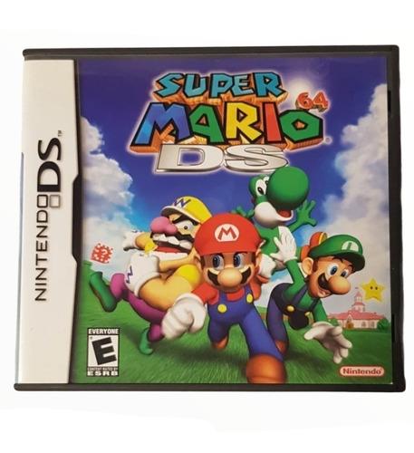 Juego Súper Mario 64 Ds Físico Nintendo Ds Local A La Calle