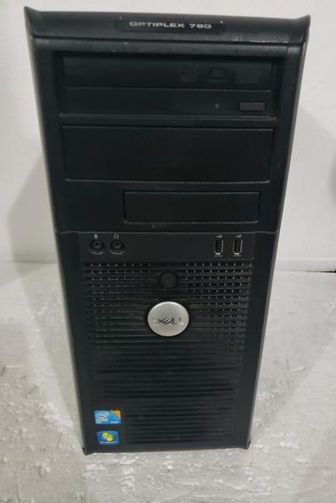 Cpu Dell Optiplex 780 Intel Coreo 2 Duo Ddr3 Hd 160gb !!!